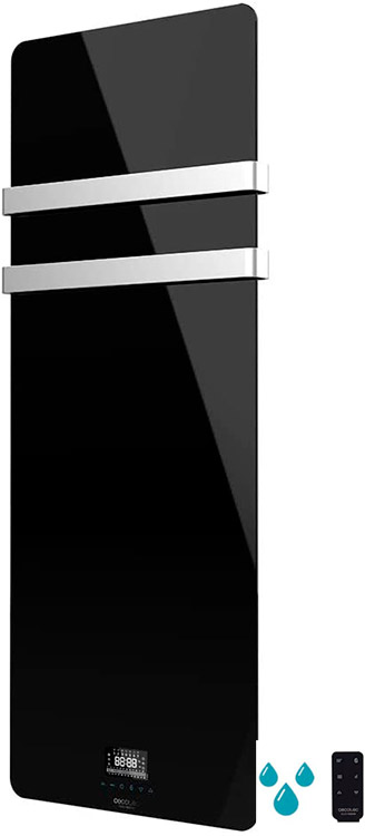 radiador eléctrico cecotec toallero ready warm crystal towel 9870