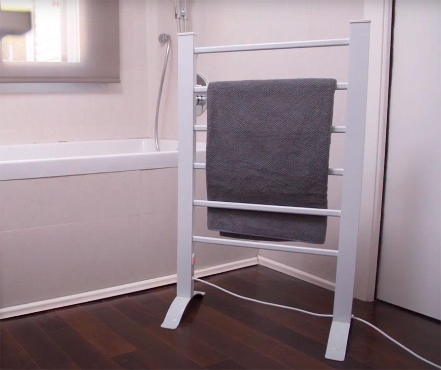 radiador toallero eléctrico innovagoods ig 114963